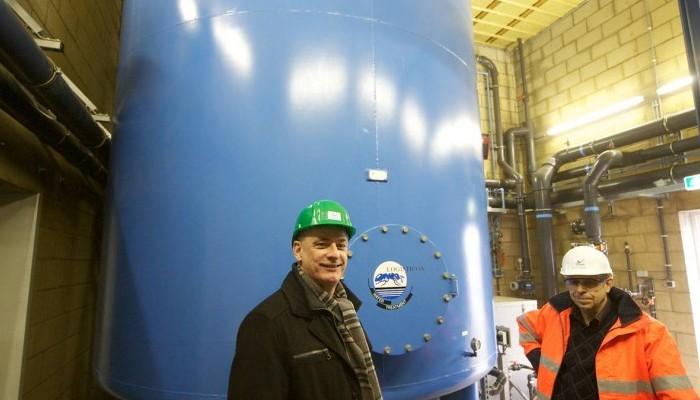 AkzoNobel gebruikt eigen water voor productie